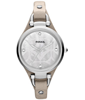 Fossil Georgia-Leather-Silver ES3150 -