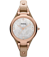 Fossil Georgia-Leather-Rose-Gold ES3151 -