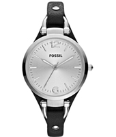 Fossil Georgia-Leather-Silver ES3199 -