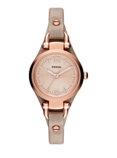 ES3262 Georgia Mini 26mm Rose gold ladies quartz watch