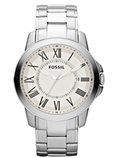 Fossil Grant-Silver FS4734 - 2012 Fall Winter Collection