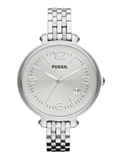 Fossil Heather-Silver ES3129 - 2012 Fall Winter Collection