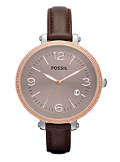 Fossil Heather-Rose-Gold-Leather ES3132 -