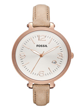 Fossil Heather-Rose-Gold-Beige ES3133 -