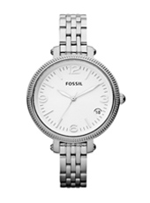 Fossil Heather-Medium-Silver ES3180 -