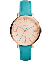 Jacqueline 36mm Turquoise & Rose Gold ladies watch