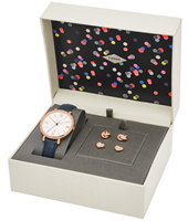 ES4140SET Jacqueline 36mm Ladies watch with rose gold earring gift set