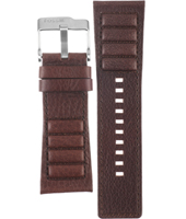 JR1007 30mm Brown Leather Strap