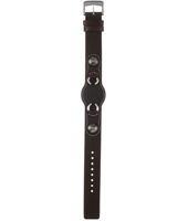JR1014 0mm Brown Leather Strap