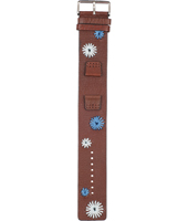 Fossil JR1201-Brown-Leather-Strap AJR1201 -