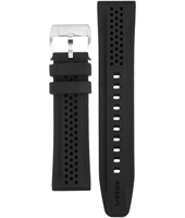 Fossil JR1262-Black-Rubber-Strap AJR1262 -