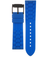 JR1426 24mm Blue Rubber Strap
