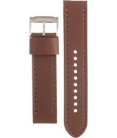JR1473 Nate 22mm Brown Leather Strap
