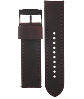 JR1487 24mm Brown Leather Strap