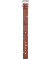JR9753 8mm Brown Leather Strap