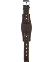 Fossil JR9990-Brown-Cuff-Strap AJR9990 -