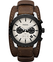 Fossil Keaton-Chrono-Beige-&-Brown JR1395 - 2012 Fall Winter Collection