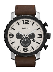 Fossil Nate-Chrono-Beige-&-Brown JR1390 - 2012 Fall Winter Collection