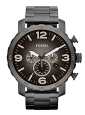 JR1437 Nate  49mm Large Dark Grey Chrono with date