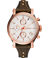 Original Boyfriend 38mm Rose Gold Ladies Chronograph