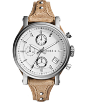 ES3625 Original Boyfriend 38mm Silver Ladies Chronograph