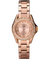 Riley Mini  30mm Rose Gold Ladies Watch with Crystals