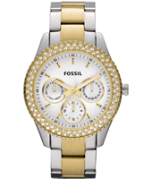 Stella 37mm Bicolor Ladies Watch with Crystals