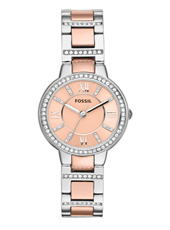 ES3405 Virginia 30mm Bicolor Rose Ladies Watch