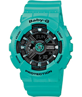 Baby-G 43.40mm Turquoise Ladies G-Shock Watch