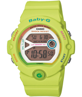 Baby-G 45mm Lime ladies G-Shock watch