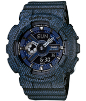 BA-110DC-2A1ER Denim'D Color 43.40mm Denim Blue Ladies G-shock Watch