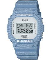 DW-5600DC-2ER Denim'D Color 42.80mm Square Digital G-Shock Watch