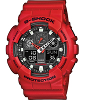G-Shock GA-100B-4A-G-SHOCK GA-100B-4AER - 2011 Fall Winter Collection
