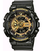 G-Shock GA-110GB-1A-Garish-Black GA-110GB-1AER - 2012 Spring Summer Collection