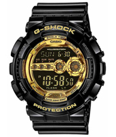 G-Shock GD-100GB-1-Garish-Black GD-100GB-1ER - 2011 Fall Winter Collection