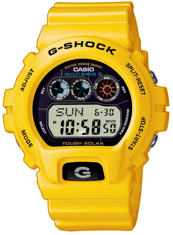 how to set time on g shock gw6900