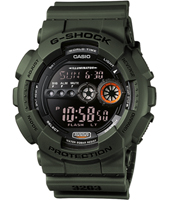 G-Shock GD-100MS-3-G-SHOCK GD-100MS-3ER -
