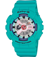 Sneaker 43.30mm Turquoise ana-digi watch