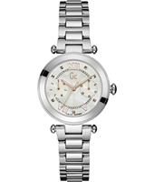 Lady Chic 32mm Silver Ladies Watch with DayDate
