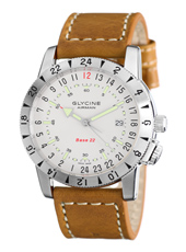 Glycine Airman-Base-22 3887-11-66-LB7 - 2012 Fall Winter Collection