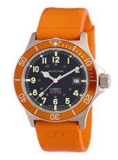 Glycine Combat-SUB-Automatic-Orange-Strap 3863-18ATO-1OR -