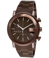Gucci G-Round-chrono-brown YA101341 -