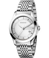 Gucci G-Timeless-Medium-Silver YA126401 -