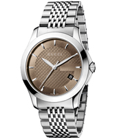 Gucci G-Timeless-Medium-Brown YA126406 - 2012 Spring Summer Collection