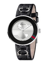 Gucci U-Play-Black-Leather YA129508 - 2012 Spring Summer Collection