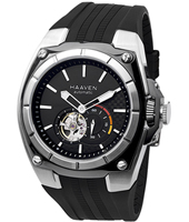 Haaven Automatic-Black-Rubber-Strap-SS 9101-01 - 2013 Spring Summer Collection