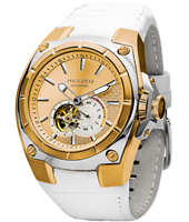 Haaven Automatic-White-Leather-Strap-IPR-Gold 9101-05 - 2013 Spring Summer Collection