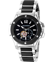 Haaven Automatic-SS-Ceramic-Black-Silver-Bracelet 9315-01 - 2013 Spring Summer Collection