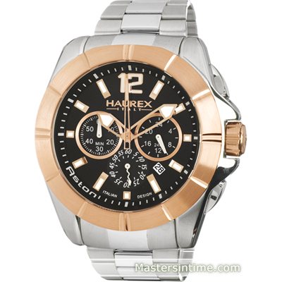 Haurex Aston-Chrono-Steel-Gold 0D366UNH - 2011 Spring Summer Collection