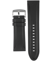 Haurex Black-Sea-Rubber-Strap A8A365UNO -